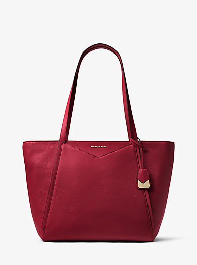 Whitney Large Leather Tote. michael michael kors · Whitney Large Leather  Tote d61df0fcc