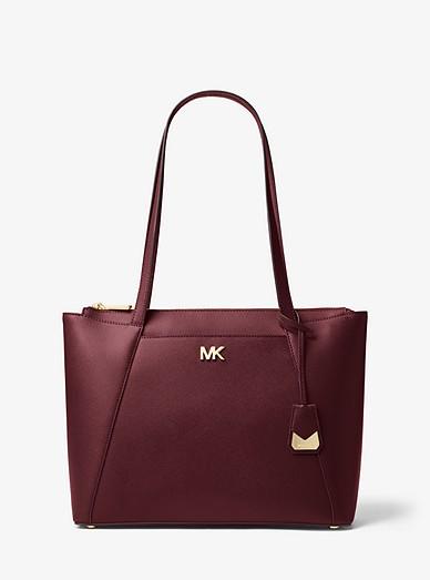 09d3c551fb585 Maddie Medium Crossgrain Leather Tote Bag
