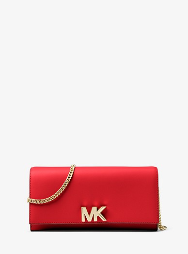 636c822f2126 Mott Leather Chain Wallet | Michael Kors