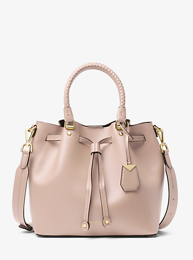 Blakely Leather Bucket Bag · michael michael kors ... a0cb61afc3
