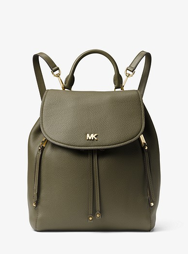 4a1488aa722ade Evie Medium Leather Backpack | Michael Kors