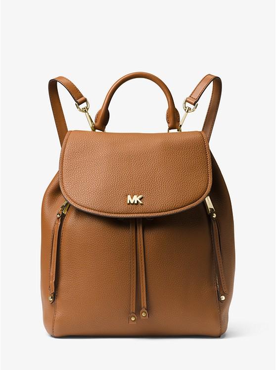Evie Medium Leather Backpack