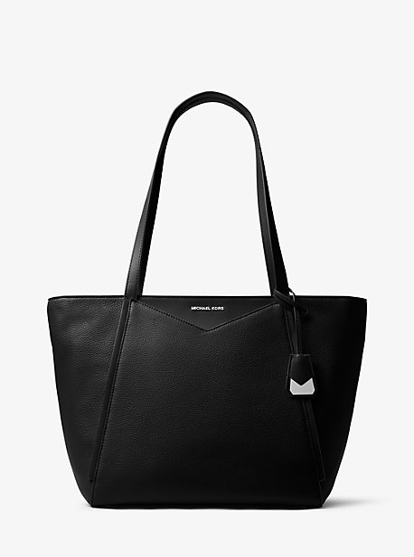 e51011fff6a1 Whitney Large Leather Tote Bag | Michael Kors