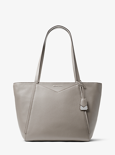 Whitney Large Leather Tote Michael Kors