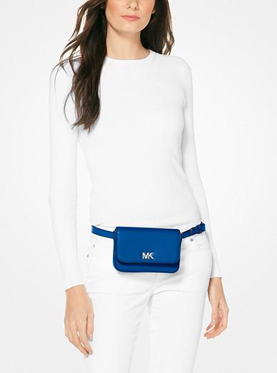 9be010a1db4c36 Mott Leather Belt Bag. MICHAEL Michael Kors