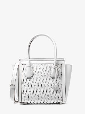 ede34571526c Mercer Studio Woven Leather Crossbody Bag