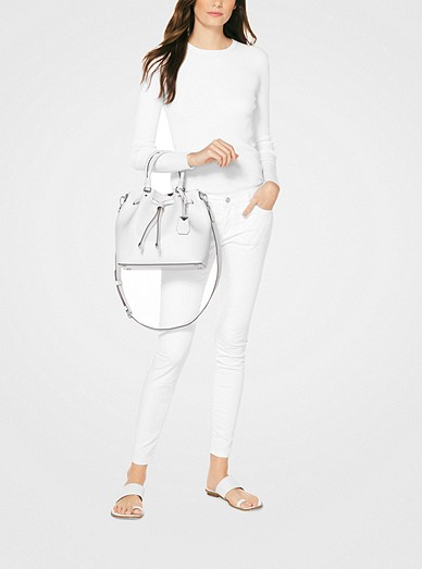 Blakely Leather Bucket Bag Michael Kors
