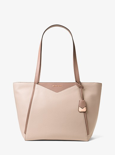 feb1f02b41494 Whitney Large Leather Tote Bag