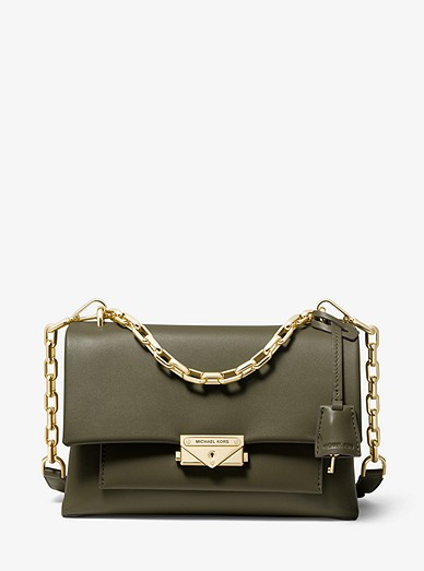 d68311cac2c4 Cece Medium Leather Shoulder Bag | Michael Kors
