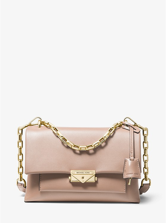 Cece Medium Leather Shoulder Bag