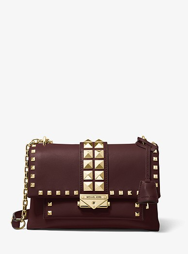 cheapest price purchase authentic hoard as a rare commodity Cece Medium Studded Leather Convertible Shoulder Bag | Michael Kors