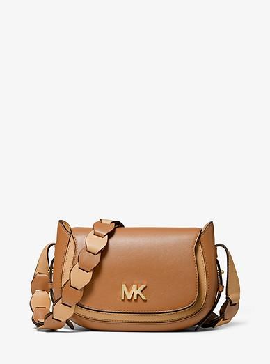 2a1dcaa80884 Jolene Small Two-tone Leather Saddle Bag