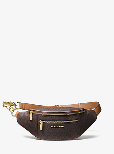 3745e907a466 Medium Logo Belt Bag. michael michael kors ...