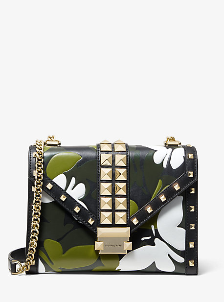 0b3672ad07e0 Whitney Large Butterfly Camo Convertible Shoulder Bag | Michael Kors
