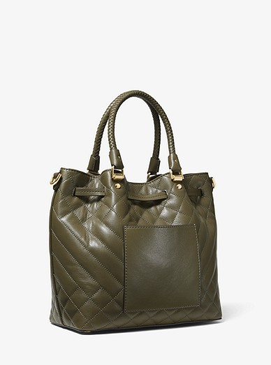 abff856bc325a Blakely Medium Quilted Leather Bucket Bag