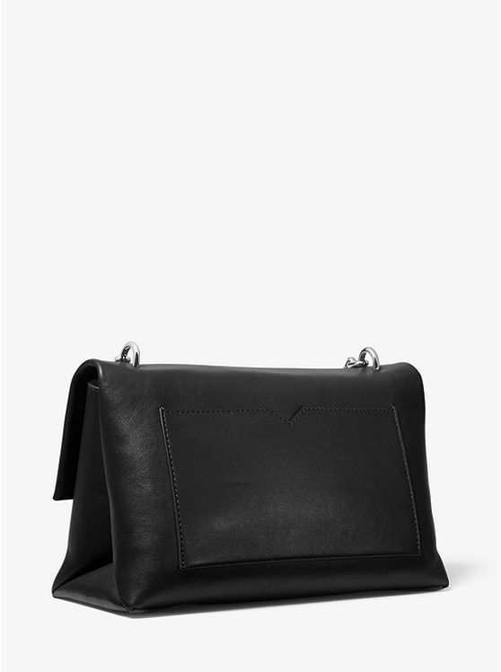 Cece Large Leather Shoulder Bag