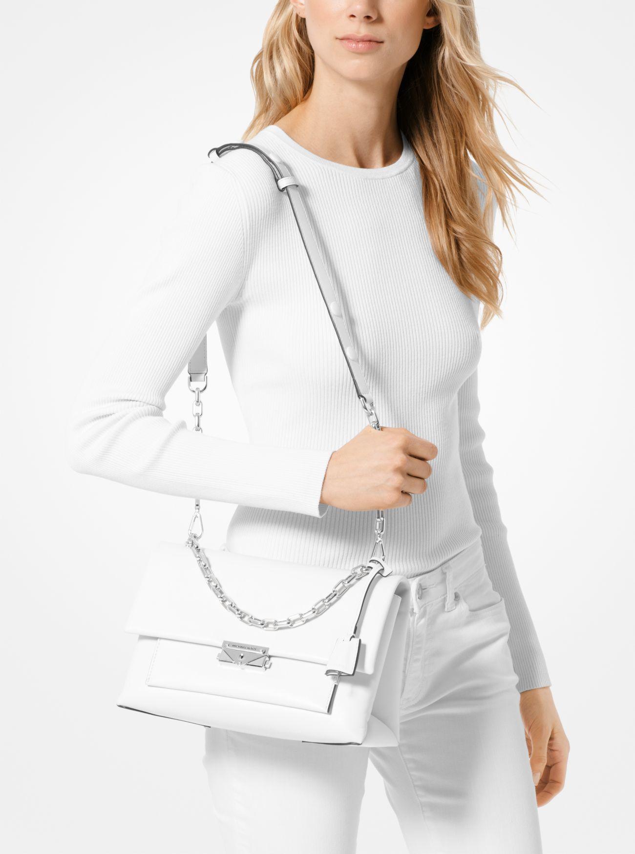 e04da955a03f ... Cece Large Leather Shoulder Bag