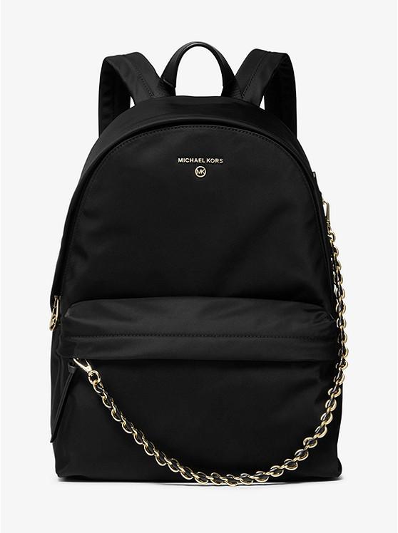 Slater Large Nylon Gabardine Backpack