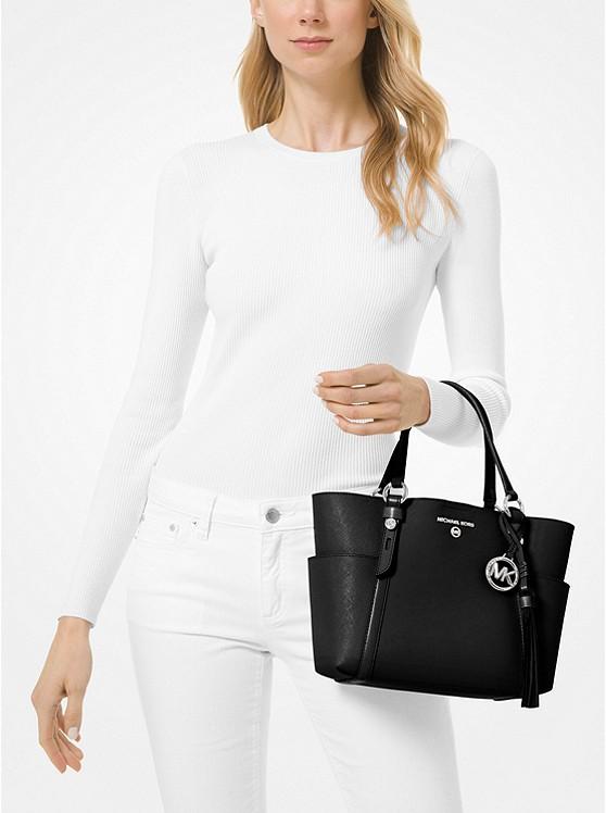 Sullivan Small Saffiano Leather Tote Bag