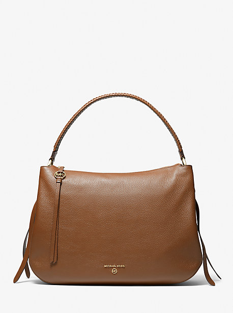 마이클 마이클 코어스 그랜드 숄더백 엑스라지 Michael Michael Kors Grand Extra-Large Pebbled Leather Shoulder Bag