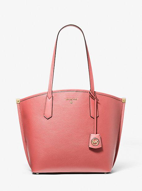 마이클 마이클 코어스 제인백 라지 Michael Michael Kors Jane Large Pebbled Leather Tote Bag