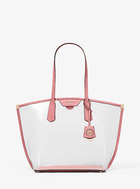 마이클 마이클 코어스 Michael Michael Kors Jane Large Clear Tote Bag