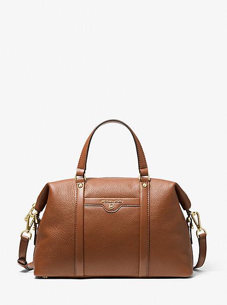 마이클 마이클 코어스  사첼백 미디움 Michael Michael Kors Beck Medium Pebbled Leather Satchel
