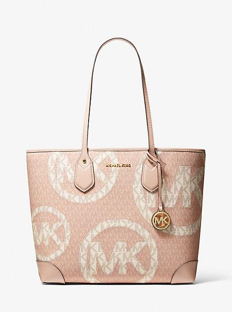 마이클 마이클 코어스 에바백 라지 Michael Michael Kors Eva Large Two-Tone Graphic Logo Tote Bag