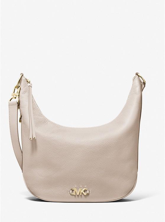 Izzy Large Pebbled Leather Convertible Shoulder Bag