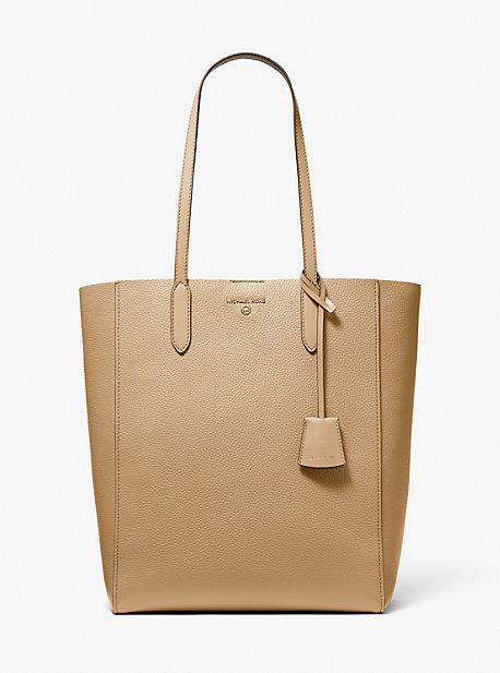 마이클 마이클 코어스 Michael Michael Kors Sinclair Large Pebbled Leather Tote Bag,CAMEL