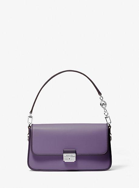 마이클 마이클 코어스 Michael Michael Kors Bradshaw Small Two-Tone Leather Convertible Shoulder Bag
