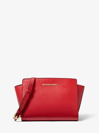 4a4e46e03156 Selma Medium Saffiano Leather Crossbody | Michael Kors