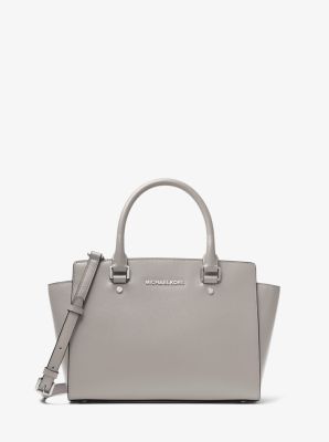 detailing new specials price remains stable Selma Medium Saffiano Leather Satchel   Michael Kors