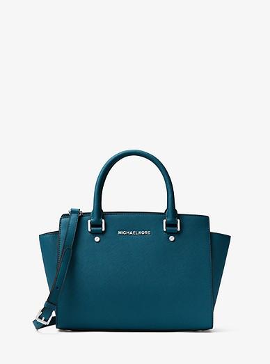 Selma Medium Saffiano Leather Satchel  388bcf9365dd9