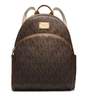 jet set travel logo backpack michael kors rh michaelkors com michael kors backpack brown leather michael kors backpack brown thomas