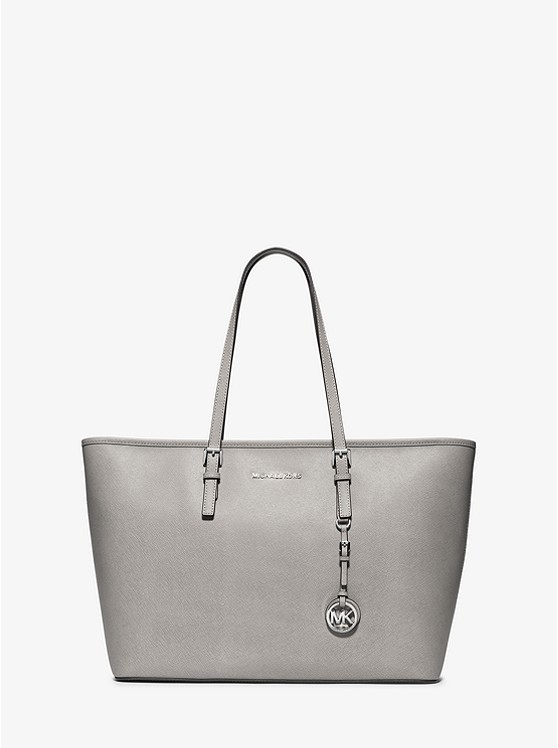 4c18fcaaf917 Jet Set Travel Medium Saffiano Leather Top-Zip Tote preview0