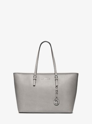 70cab40014 Jet Set Travel Medium Saffiano Leather Top-Zip Tote