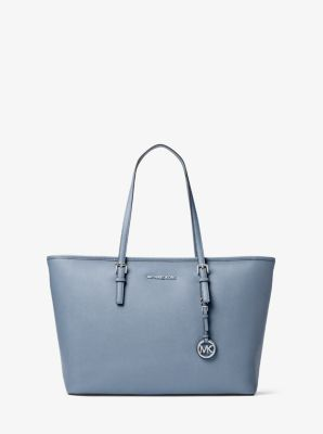 a0f0ea0a5d78 Jet Set Travel Medium Saffiano Leather Top-Zip Tote