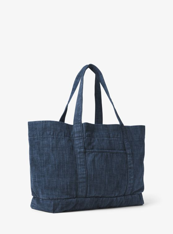 Extra-Large Denim Tote