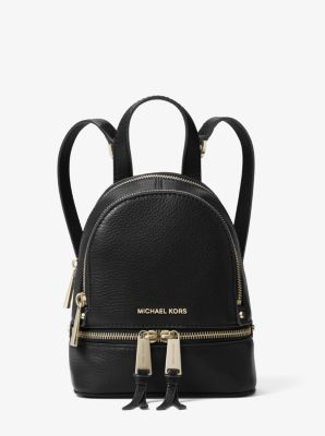 65a9e756bdcb Rhea Mini Leather Backpack | Michael Kors
