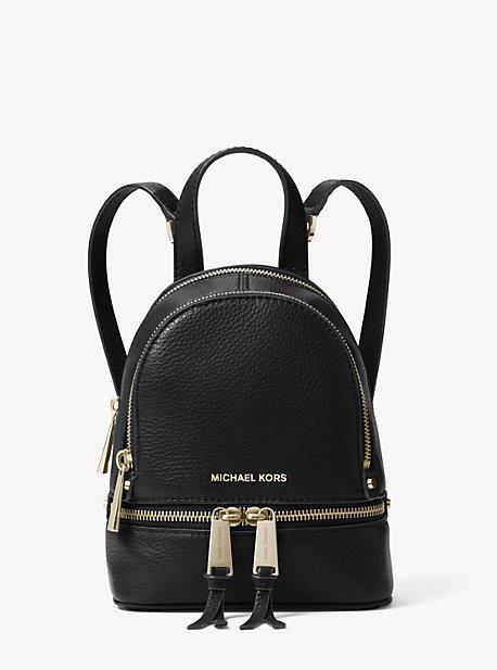 919b2557869c Rhea Mini Leather Backpack | Michael Kors