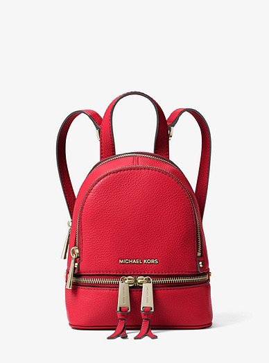 723b5323315e Rhea Mini Leather Backpack. Rhea Mini Leather Backpack. Rhea Mini Leather  Backpack. MICHAEL Michael Kors