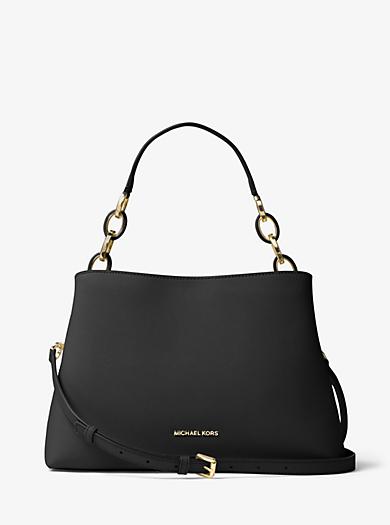 e9579ca3a47b Grand sac porté épaule Portia en cuir saffiano. michael michael kors ...