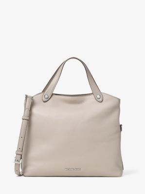 Hyland Small Leather Satchel | Michael Kors