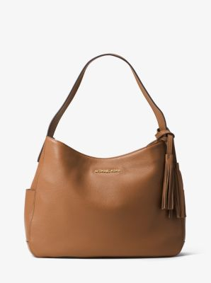 Ashbury Large Leather Shoulder Bag | Michael Kors