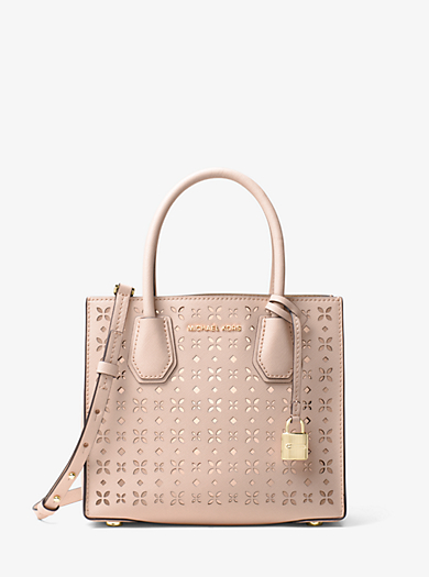 0fd5a9f29105 Mercer Perforated Leather Crossbody · michael kors studio ...