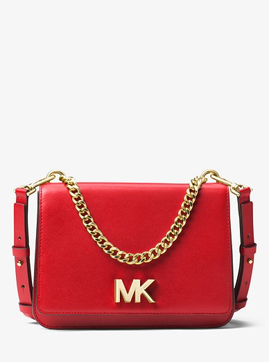1b77687aecd5 Mott Leather Crossbody Bag | Michael Kors