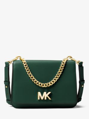timeless design detailed images hot products Mott Leather Crossbody Bag | Michael Kors