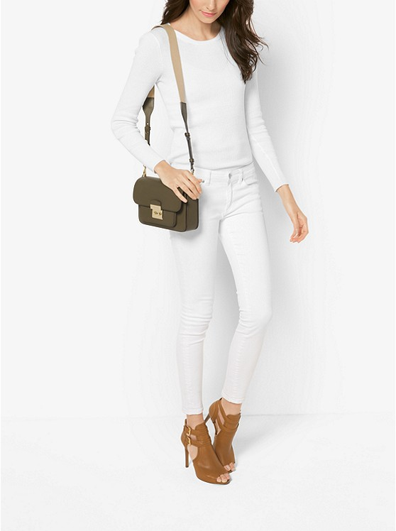 Sloan Editor Leather Shoulder Bag