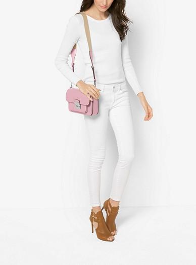136cd15af6e0 Sloan Editor Leather Shoulder Bag. MICHAEL Michael Kors